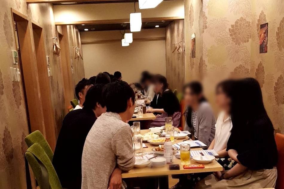 名古屋、愛知、岐阜、三重の婚活パーティー、街コン、COLOR PARTY名古屋風景