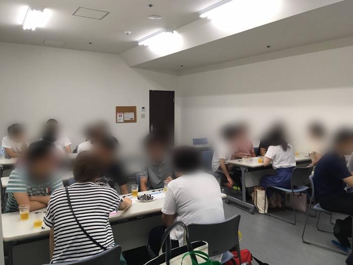 名古屋、愛知、岐阜、三重の婚活パーティー、街コン、COLOR PARTYCOLORフットサルコン稲沢トークタイム